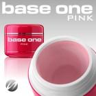 Gel Base One Pink 100g, skaidriai rožinis gelis formavimui