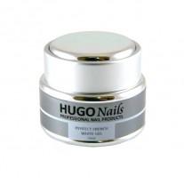 HUGO Nails Extra White Builder, baltas formuojamasis gelis 15ml
