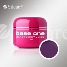 Base One Blackberry Juice 5g, spalvotas gelis