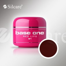 Base One Red Lips 5g, spalvotas gelis