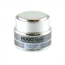 HUGO Nails baltas formuojamasis gelis 5ml