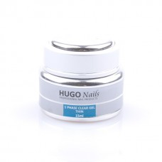 "HUGO Nails ""Thin"" skystas UV gelis 15ml"