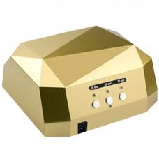 UV LED CCFL lempa 36W lempa Diamond Auksinė