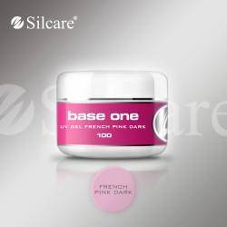 Base One French Pink Dark 100g, rožinis gelis formavimui