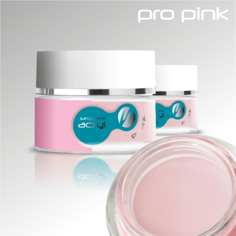 Sequent Acryl LUX akrilo pudra, rožinė, 24g