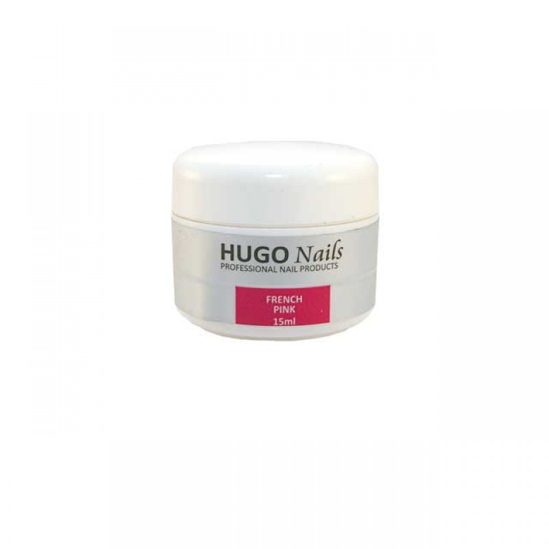 "HUGO Nails ""French Pink"" rožinis gelis 5m"