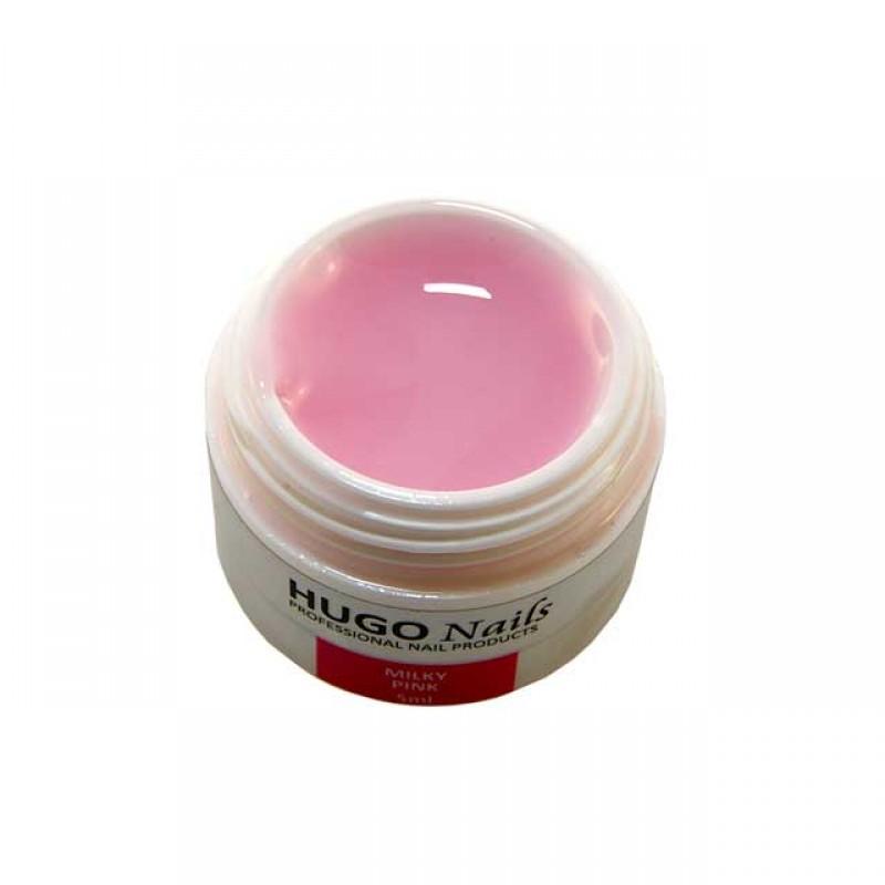 "HUGO Nails ""Milky pink"" spalva"