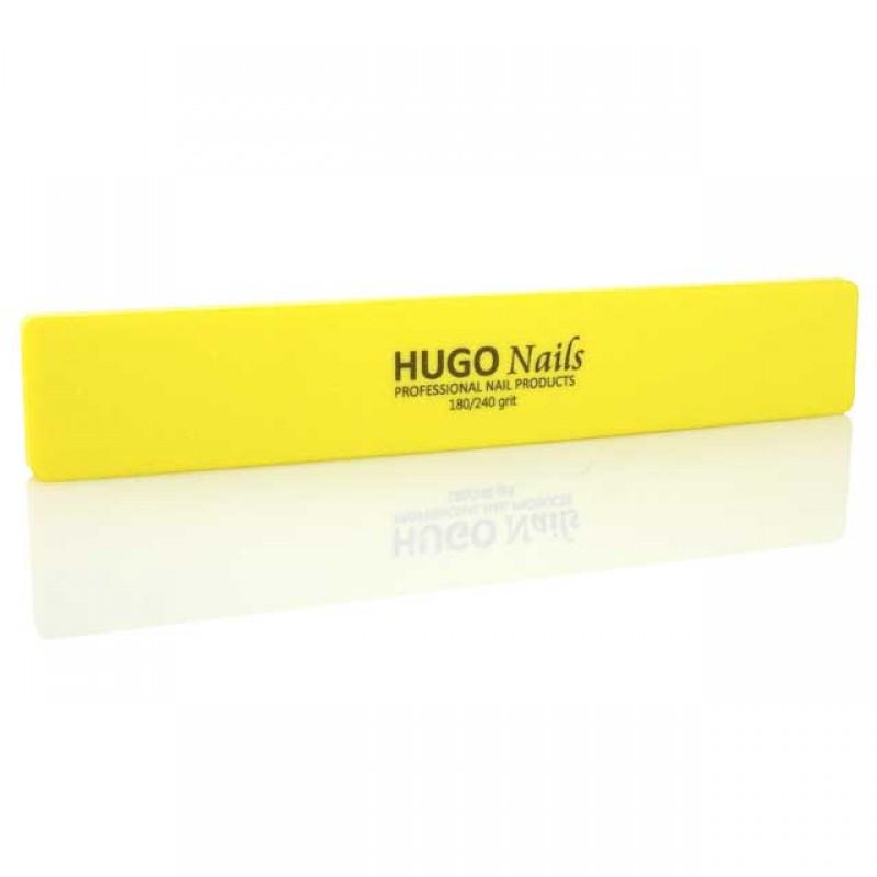 HUGO Nails minkšta dildė,150/240, Geltona