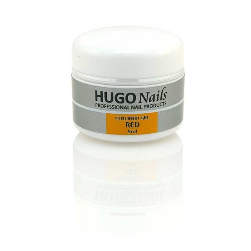 HUGO Nails violetinis spalvotas gelis 5ml