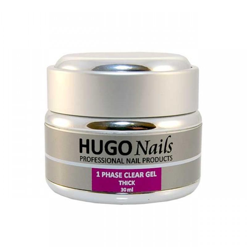 """HUGO Nails """"Thick"""" tirštas formuojamasis UV gelis 30ml"""