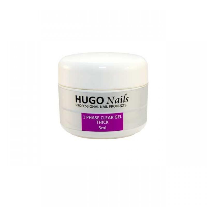 """HUGO Nails """"Thick"""" tirštas formuojamasis UV gelis 5ml"""