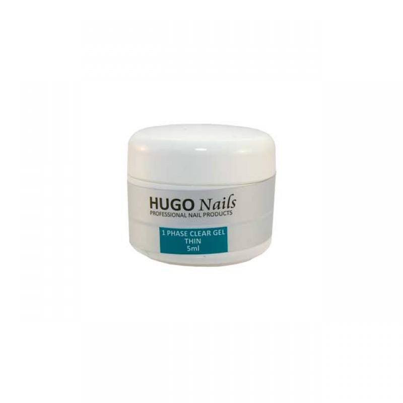 "HUGO Nails ""Thin"" skystas UV gelis 5ml"