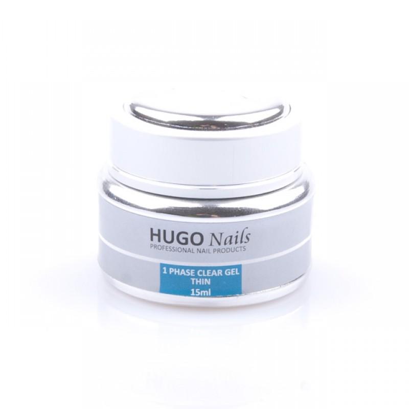 "HUGO Nails ""Thin"" skystas UV gelis 15ml"